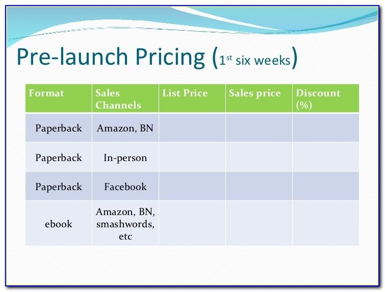 Marketing Launch Plan Sample