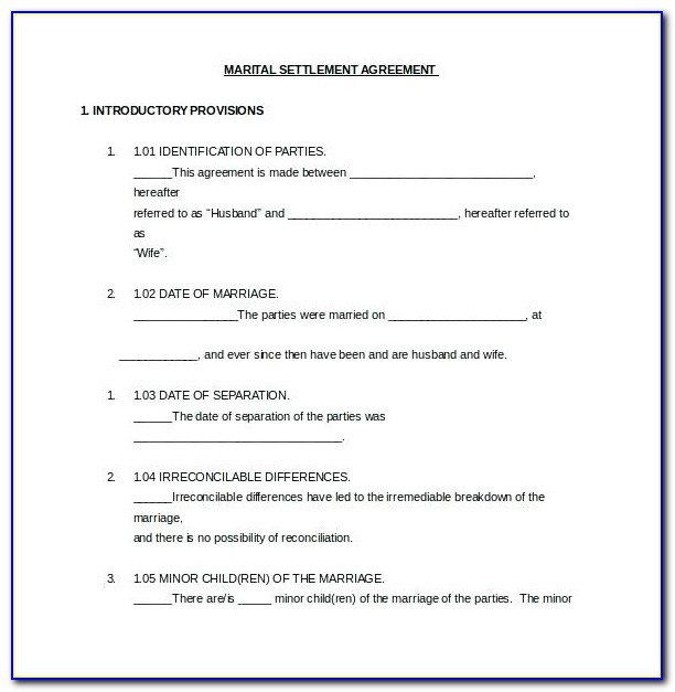 Marriage Contract Example Philippines