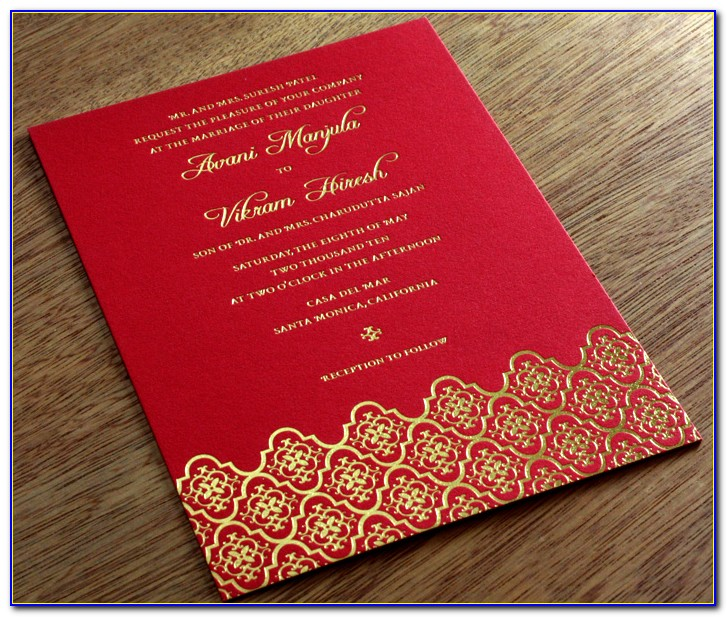 Marriage Invitation Card Design India