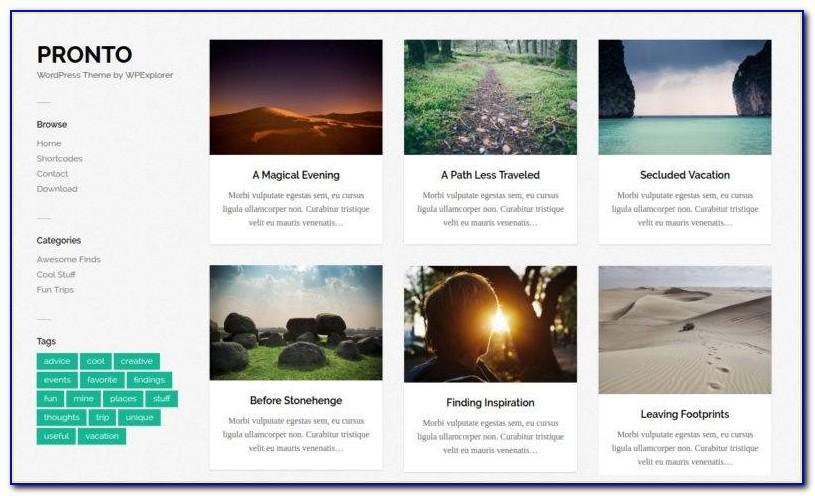 Masonry Grid Web Template