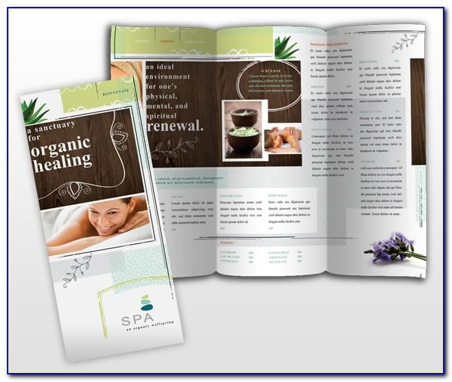 Massage Therapy Brochure Templates