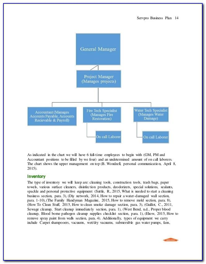 Master Franchise Business Plan Template