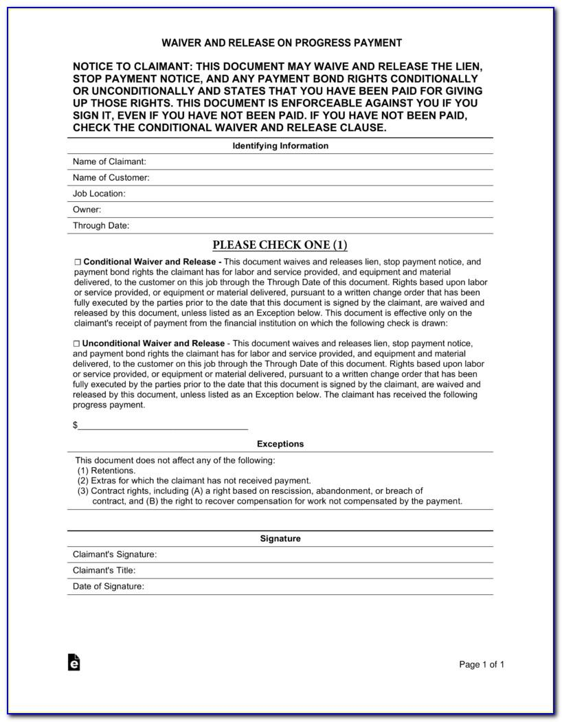 Property Lien Release Letter Template