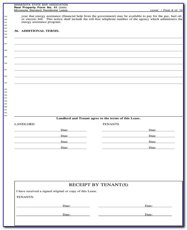 Rental Agreement Format Word File