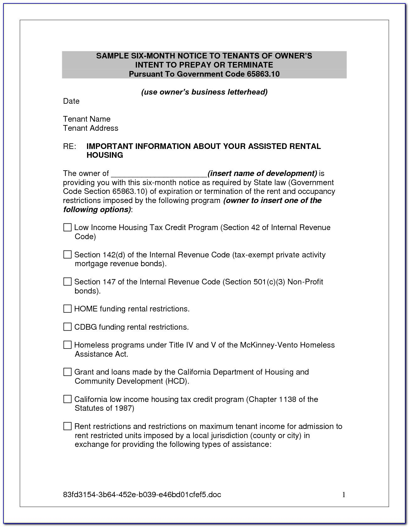 Sample Letter Of Intent To Lease Aircraft