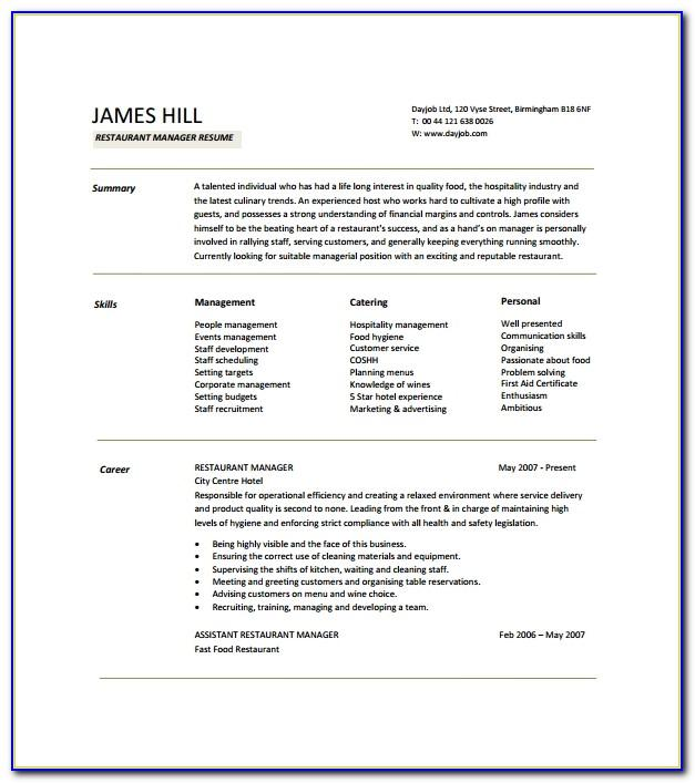 Sample Management Succession Training Plan