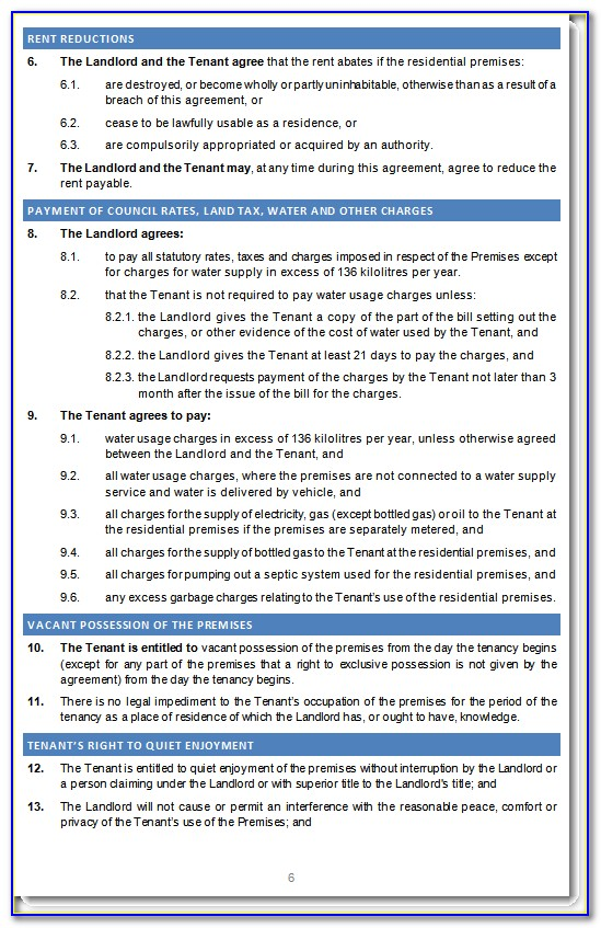 Tenancy Agreement Template Free Download Uk