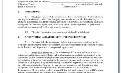 Australian Independent Contractor Agreement Template
