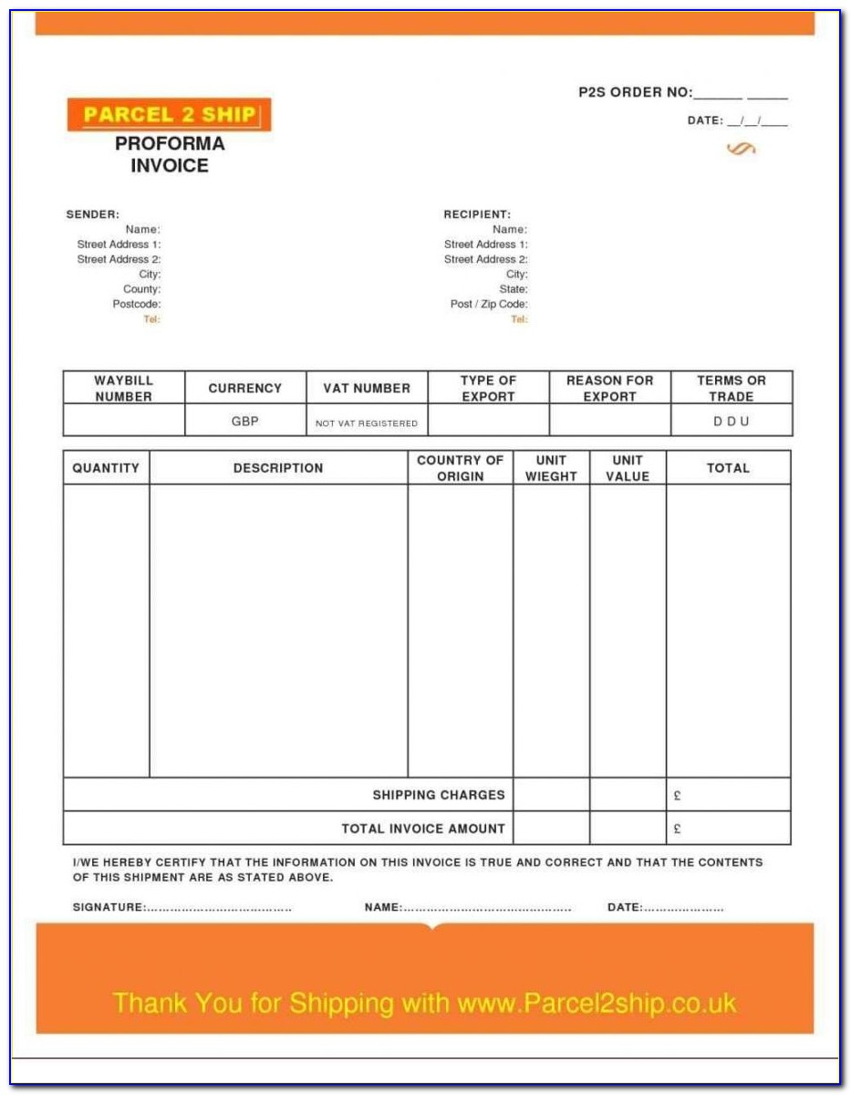 Billing Invoice Template Excel Download