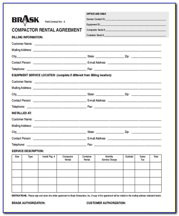 Car Hire Agreement Template Free Uk