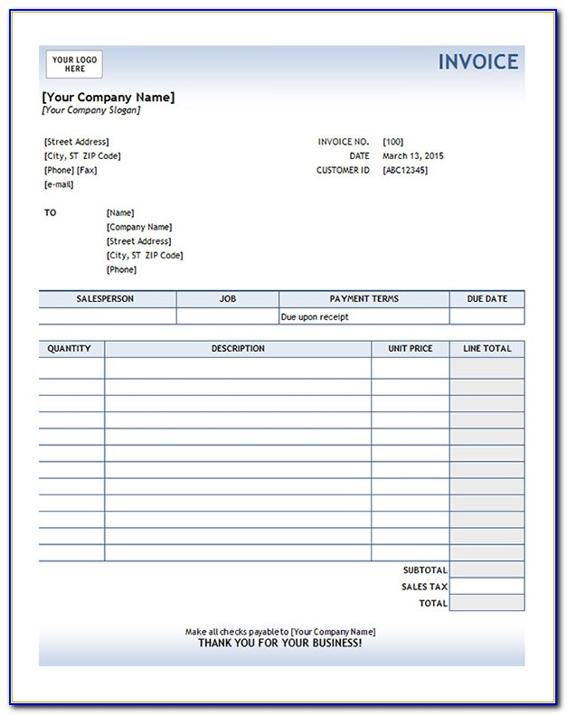 Change Invoice Template Quickbooks Online