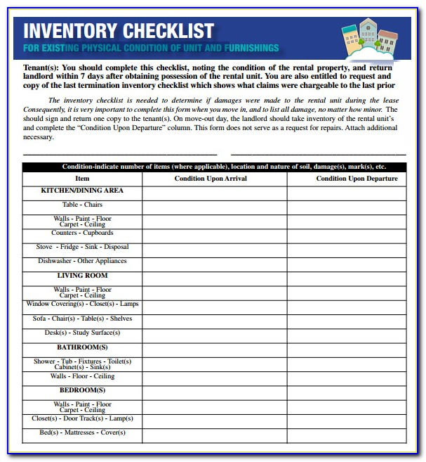 Chemical Inventory List Excel Template