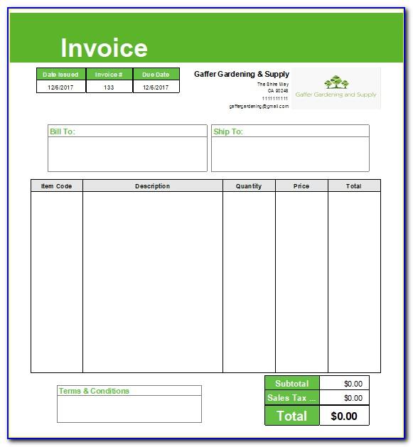 Create Invoice Template In Quickbooks Online