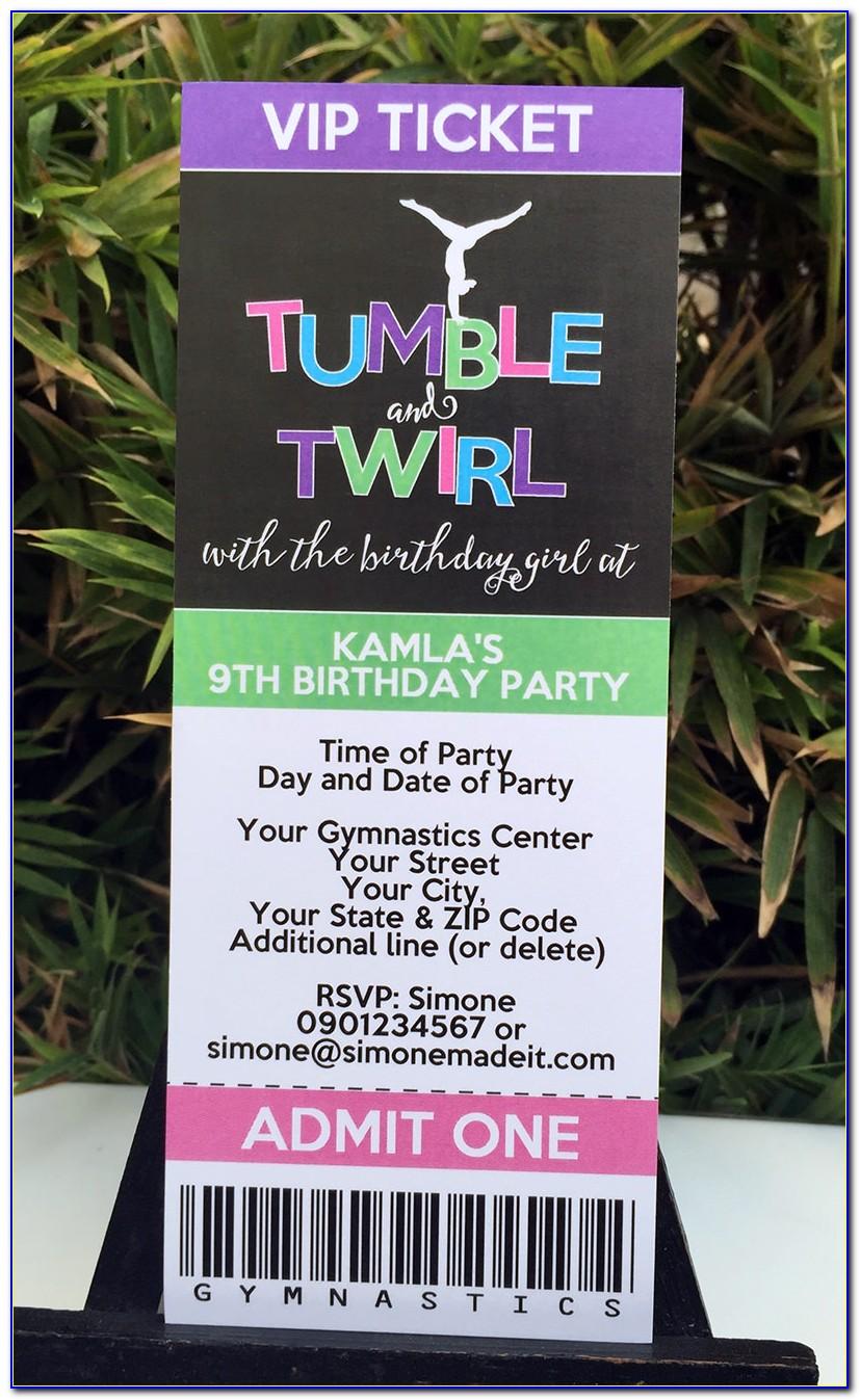 Diy 1st Birthday Invitation Templates