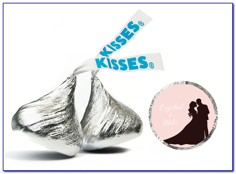 Diy Hershey Kisses Label Template