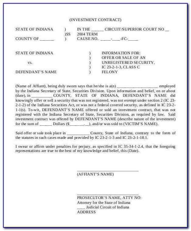 Film Investor Financing Agreement Sample Download