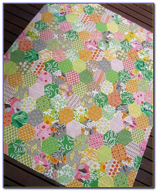 Free Hexagon Quilt Pattern Template