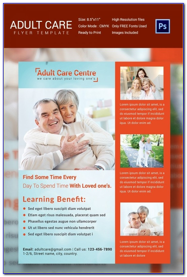 Free Home Health Care Flyer Templates