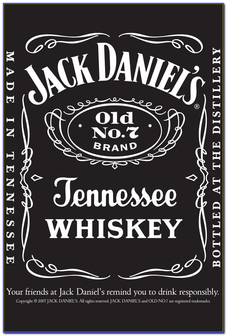 Free Printable Jack Daniels Invitation Template
