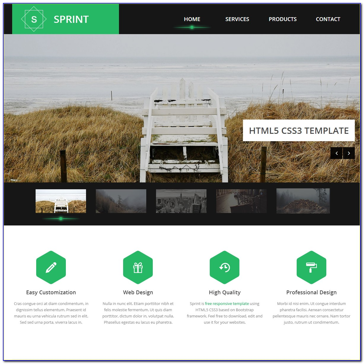 Free Responsive Website Templates Download Html5 And Css