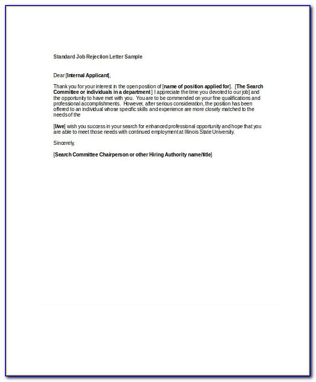 Freelance Job Offer Letter Template