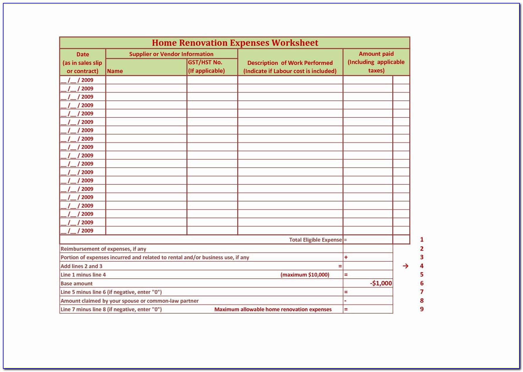 Group Home Business Plan Template