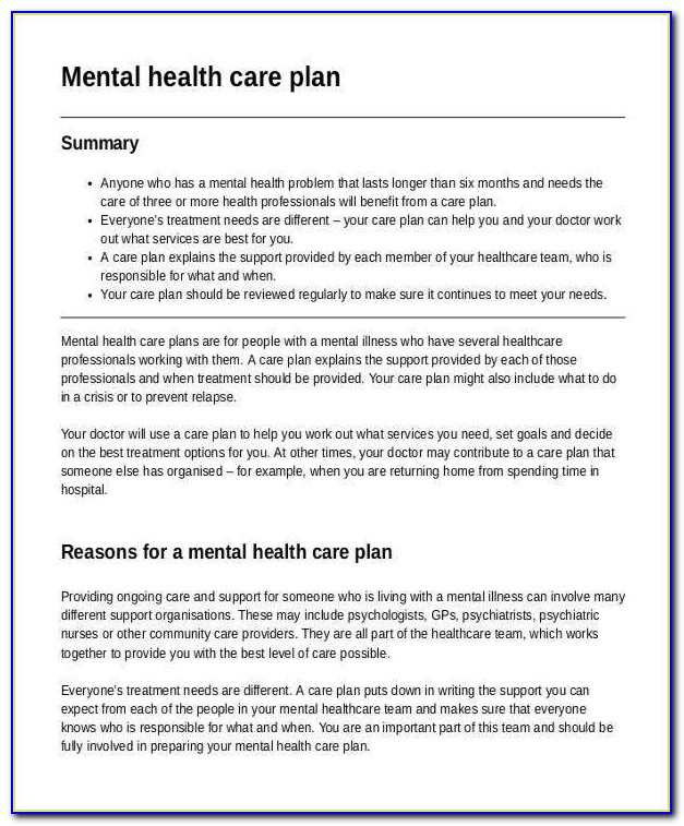 Health Care Business Plan Sample
