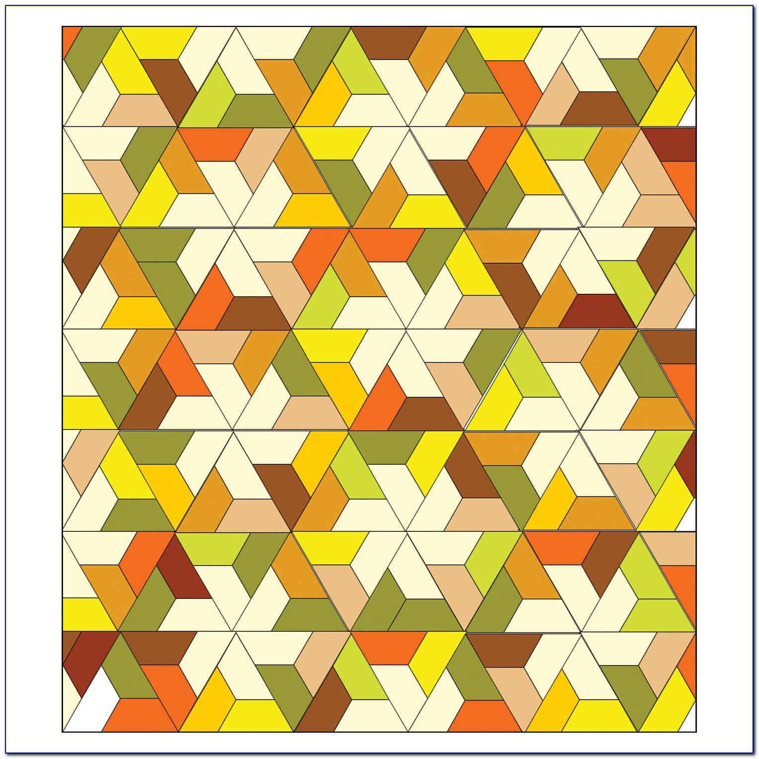 Hexagon Flower Quilt Pattern Free