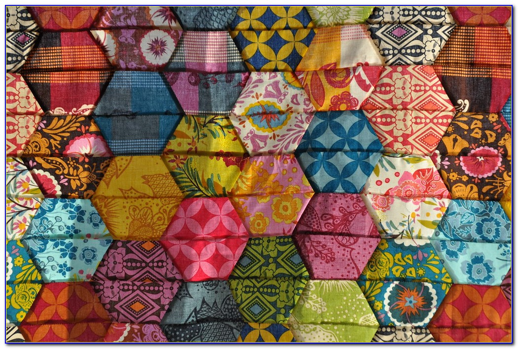 Hexagon Quilt Block Patterns Free