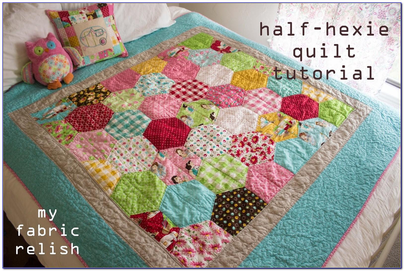 Hexagon Quilt Block Tutorial