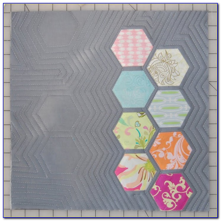 Hexagon Quilt Pattern Free Download