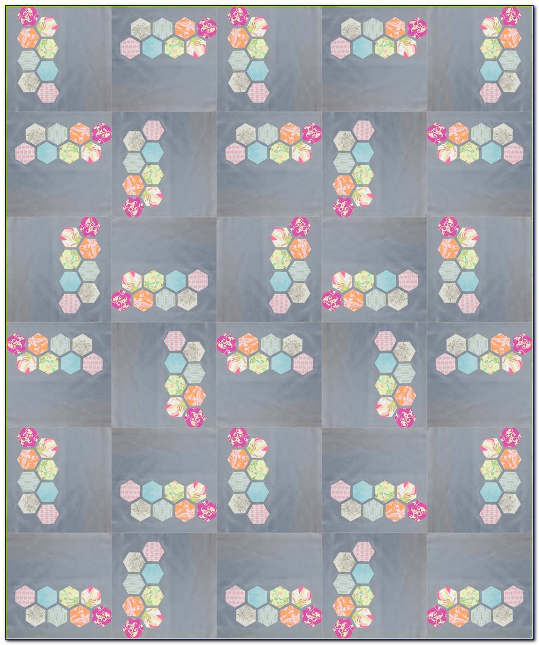 Hexagon Quilt Pattern Ideas
