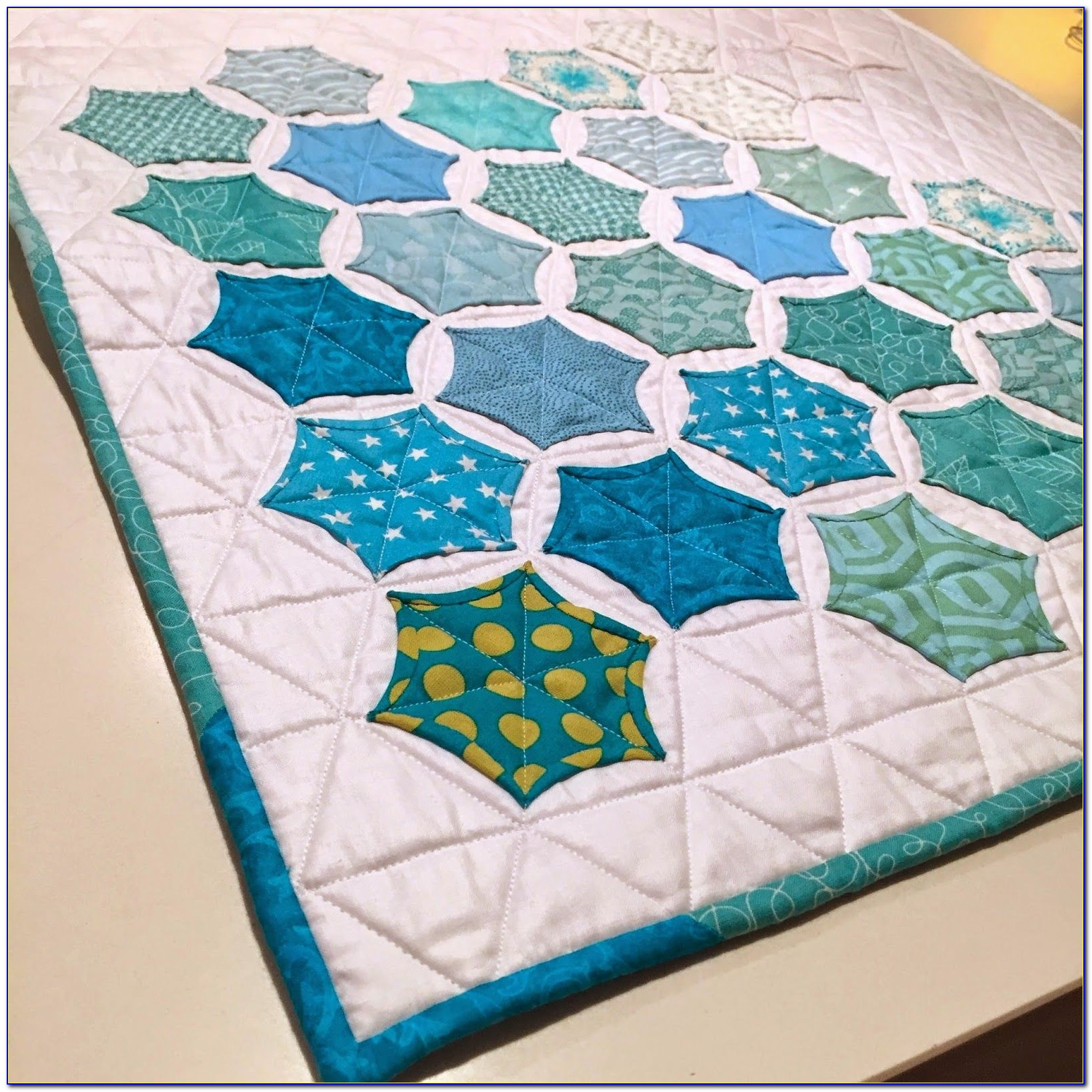 Hexagon Quilt Pattern Layouts