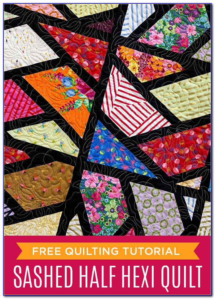 Hexagon Star Quilt Pattern Free