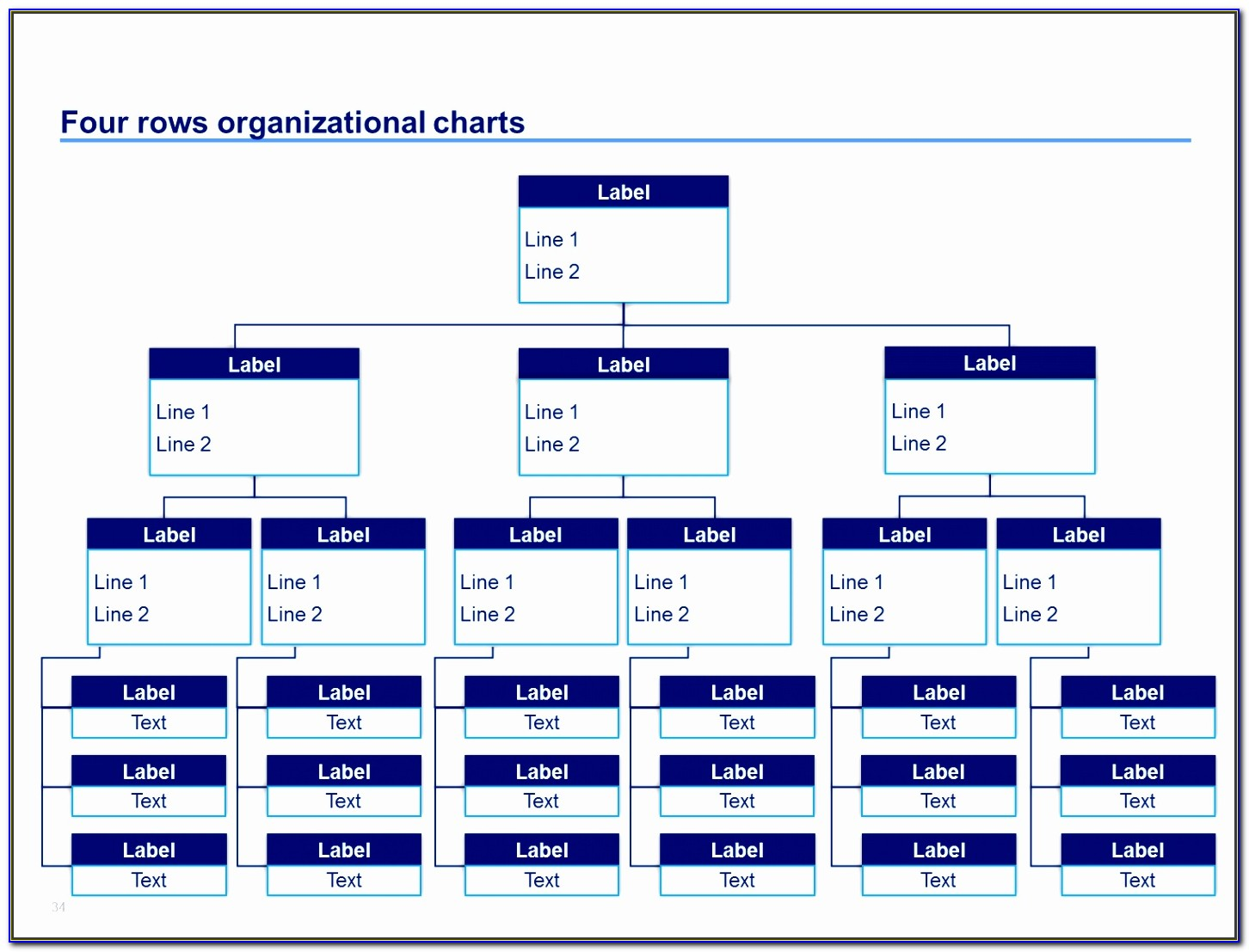 Hierarchy Diagram Template Powerpoint