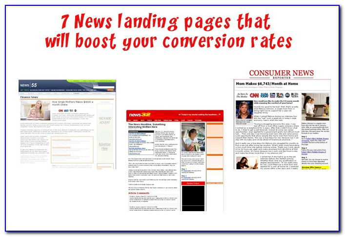 High Converting Landing Page Templates