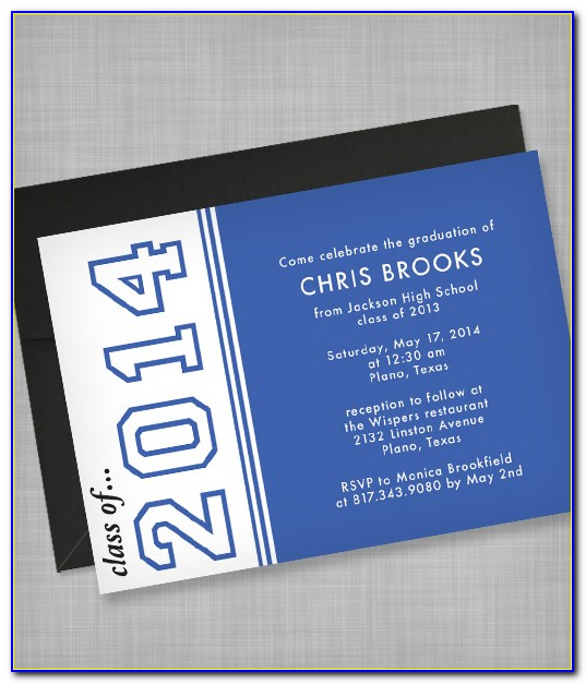 High School Graduation Invitations Templates Free