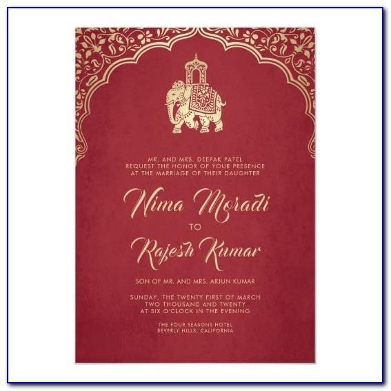 Hindu Wedding Invitation Video Maker