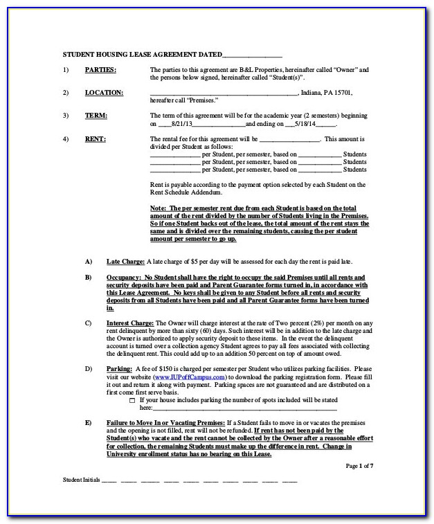 Home Building Contract Form