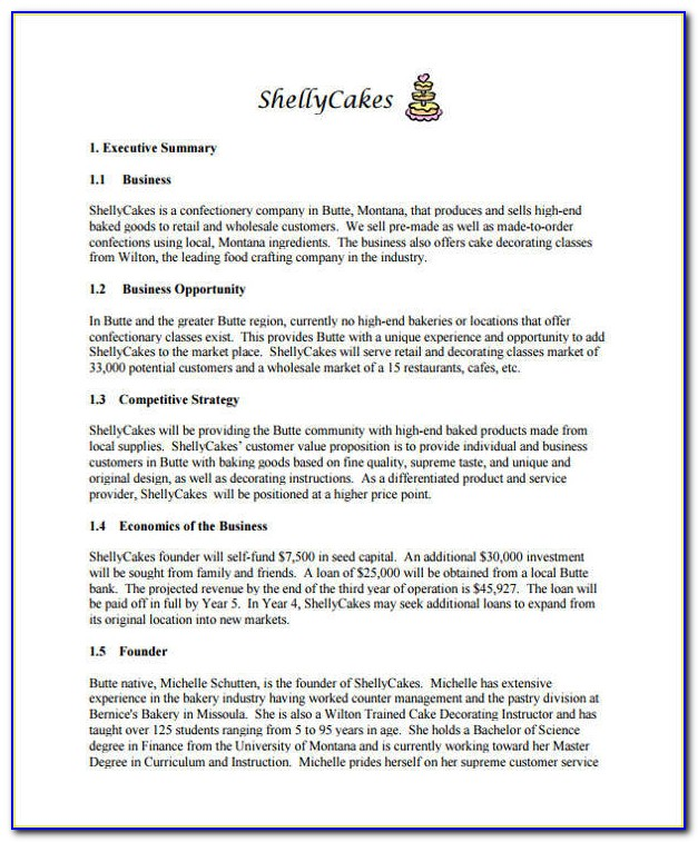 Home Care Business Plan Template