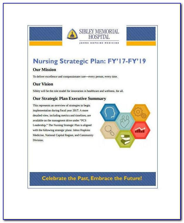 Hospital Strategic Plan Template Free Download