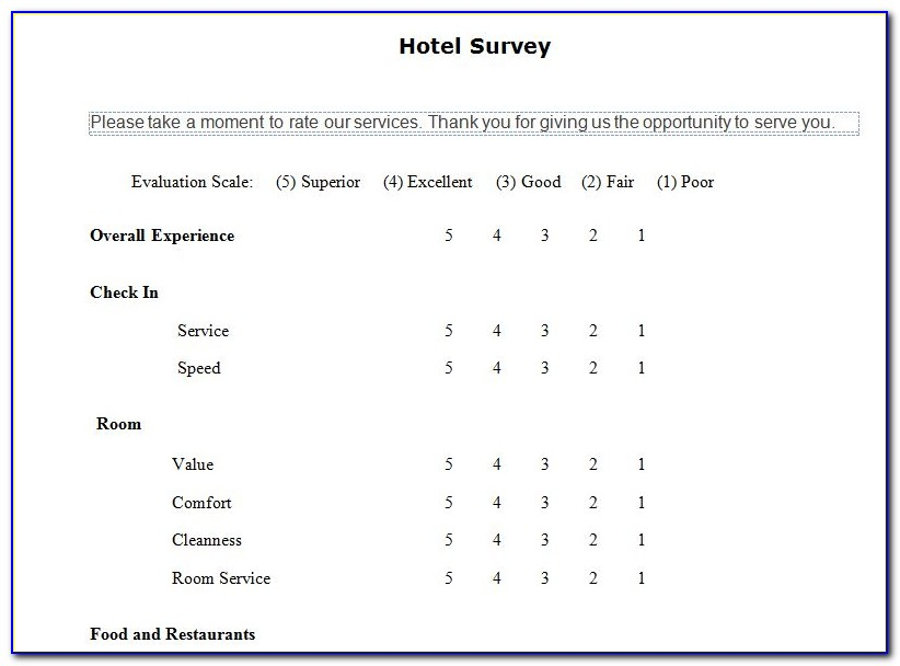 Hotel Group Booking Proposal Template
