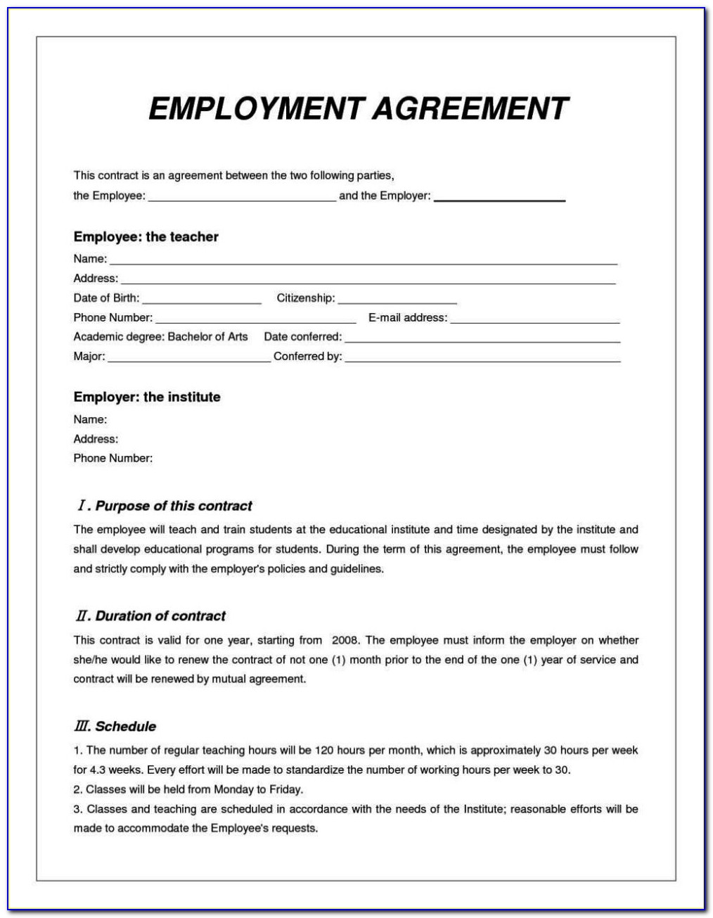 House Share Contract Template Uk