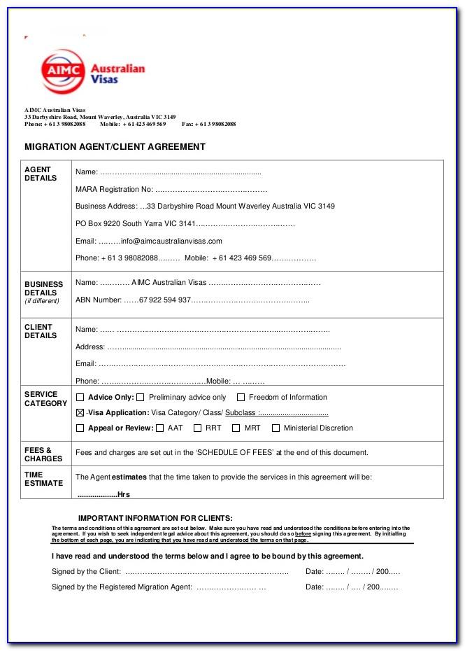 House Sharing Agreement Sample