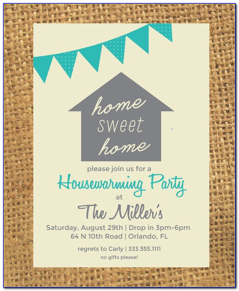 House Warming Invitation Card Maker Free