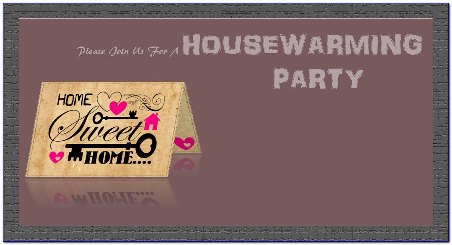 House Warming Invitation Design Online