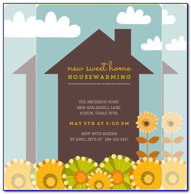Housewarming Invitation Card Online Free