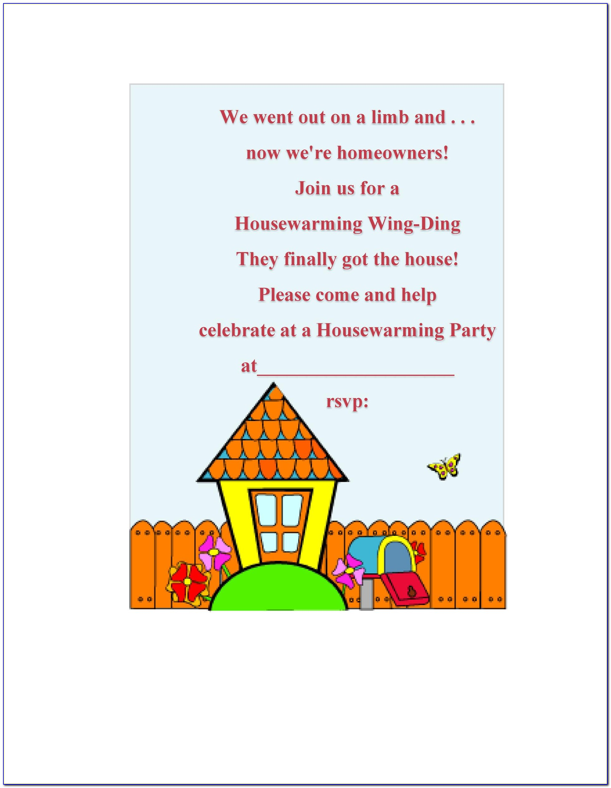 Housewarming Invitation Card Online India