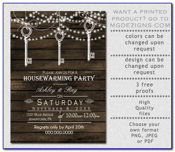 Housewarming Invitation Design Online Free