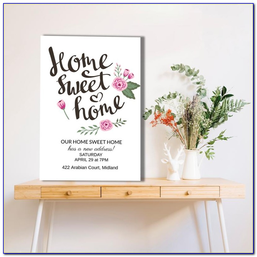 Housewarming Invitation Video Maker Free
